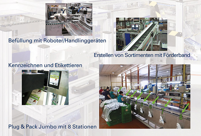 Plug & Pack Optionen