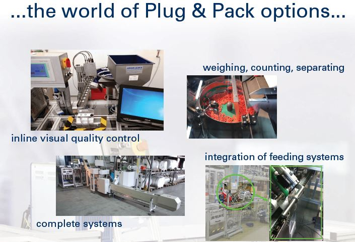 Plug & Pack machine options